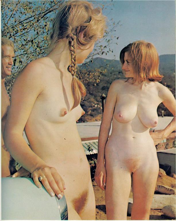 girl nude vintage wedding