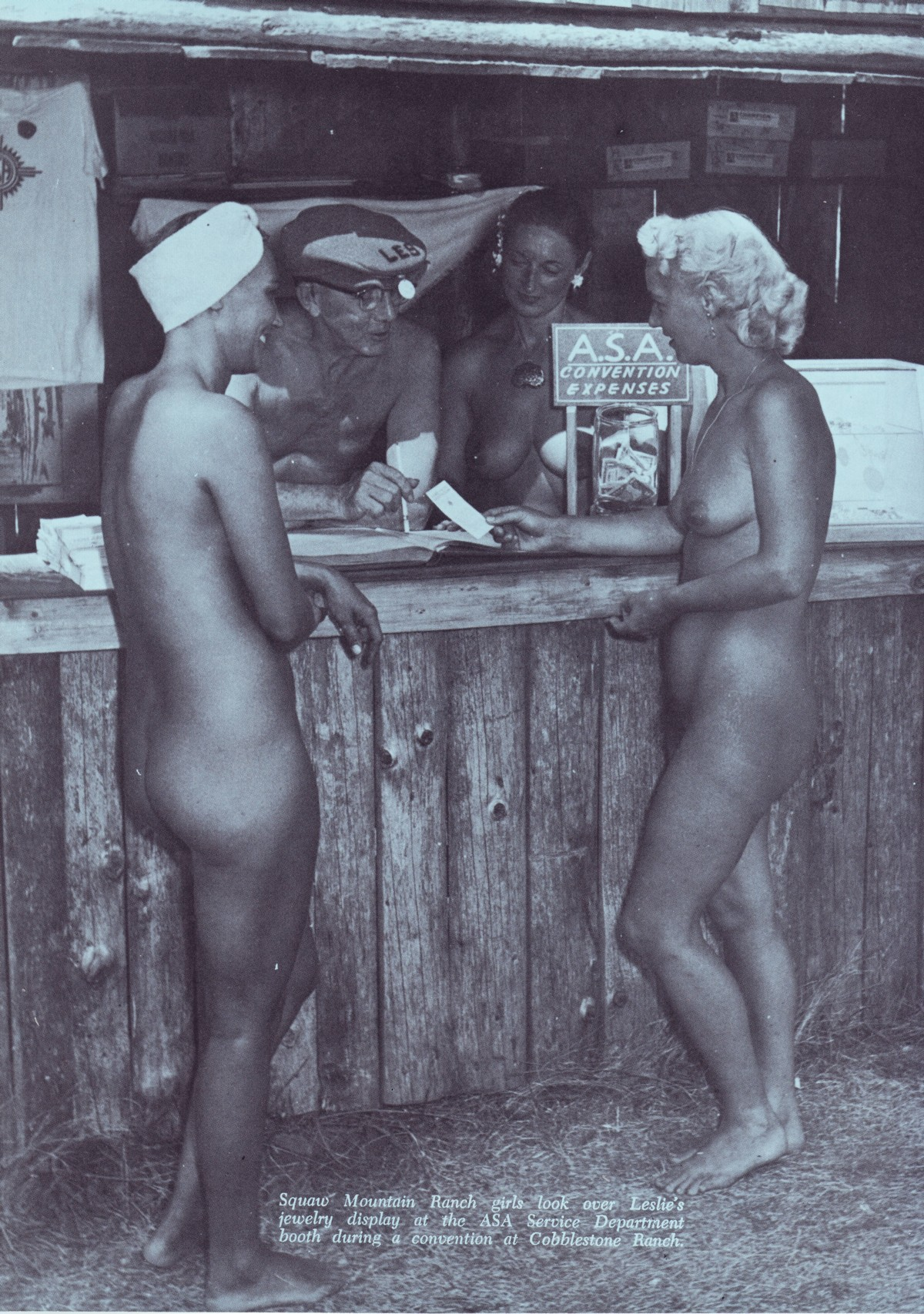 Vintage Nudist Picture 21
