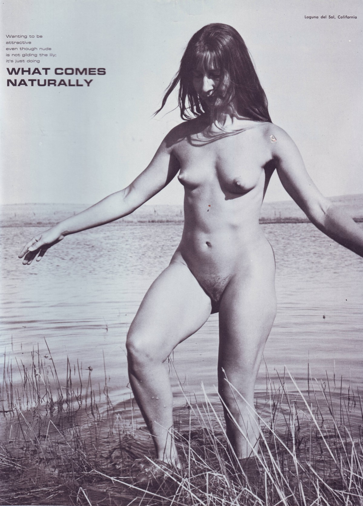 Vintage nudist magazine photos